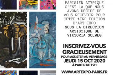 exposition Erika sellier à Parie art expo